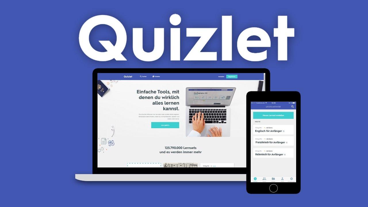 Schnell & effektiv Vokabeln lernen?   Quizlet - YouTube