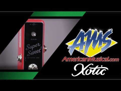Xotic Boost Pedals - American Musical Supply