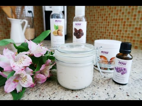 How To: DIY All Natural Whipped Body Butter
