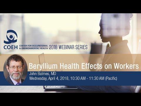 Beryllium Health Effects on Workers