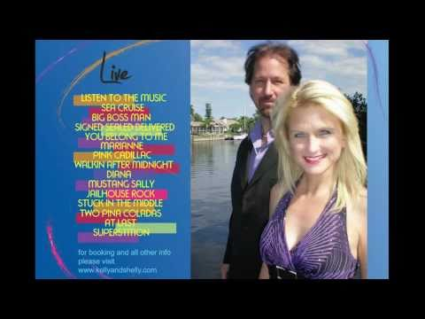 Kelly & Shelly Live CD track #13 Two Pina Coladas (Entire song sample)