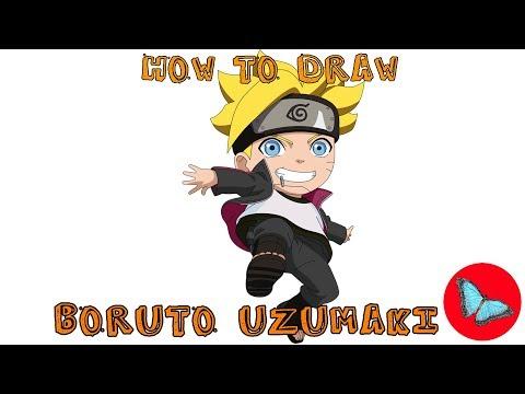 How To Draw Boruto Uzumaki From Naruto | Drawing Animals