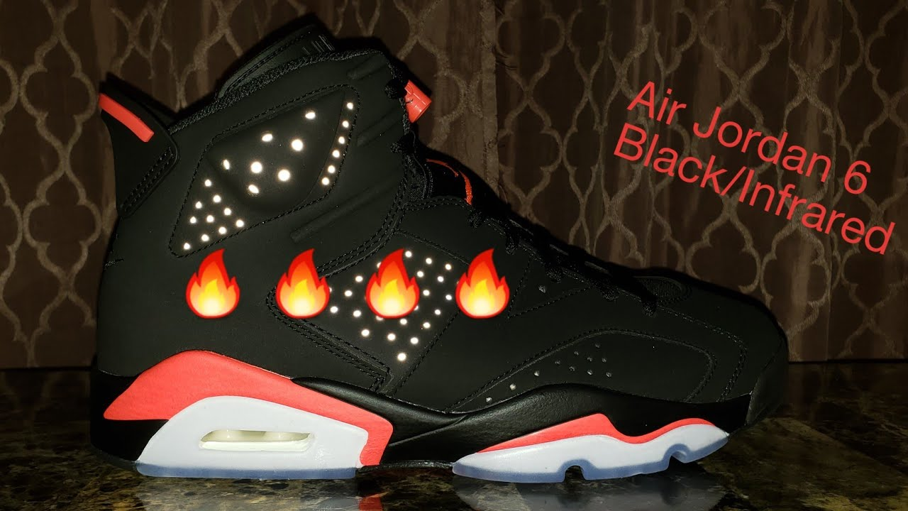 c15f6e1acc2349 Air Jordan 6 Retro Black Infrared unboxing and review - YouTube