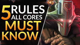 Top 5 KEY Concepts ALL Cores MUST MASTER - Pro Tips to go Carry-God | Dota 2 Guide