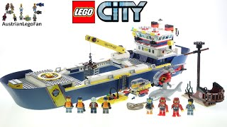 LEGO City 60266 Ocean Exploration Ship - Lego Speed Build Review