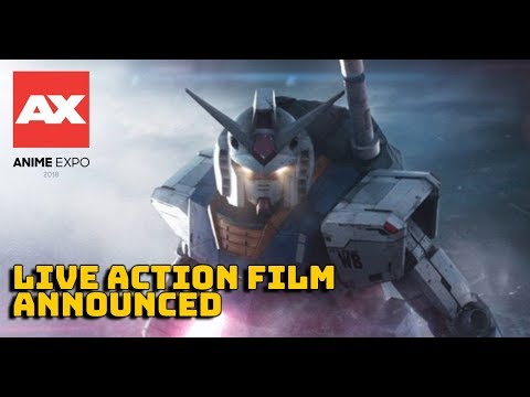 Gundam Movie Announcement From Anime Expo 2018