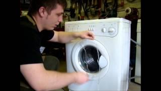 видео дверь стиральной машины не открывается
