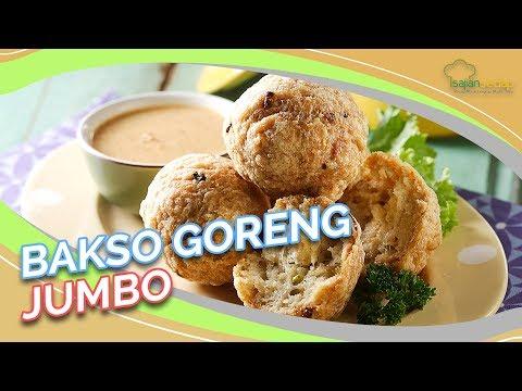 Resep Bakso Goreng Jumbo, Gede-Gede Bikin Ketagihan!