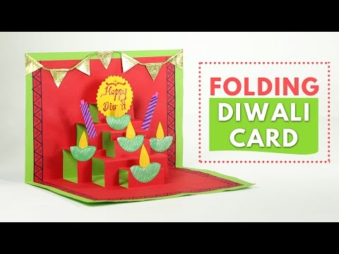 Diwali Greeting Cards: Pop-up Greeting Cards Making