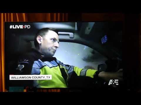Live PD near car crash Williamson County, TX