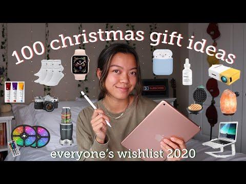 100 CHRISTMAS GIFT IDEAS (2020 WISHLIST)