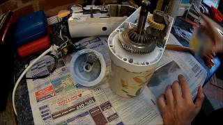 KitchenAid Stand Mixer repair - Part 2, re-assembly and mixing the Sunday cake (Model 5KPM5)