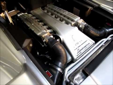 1999 Lamborghini Diablo Vt Roadster Engine Rev Youtube