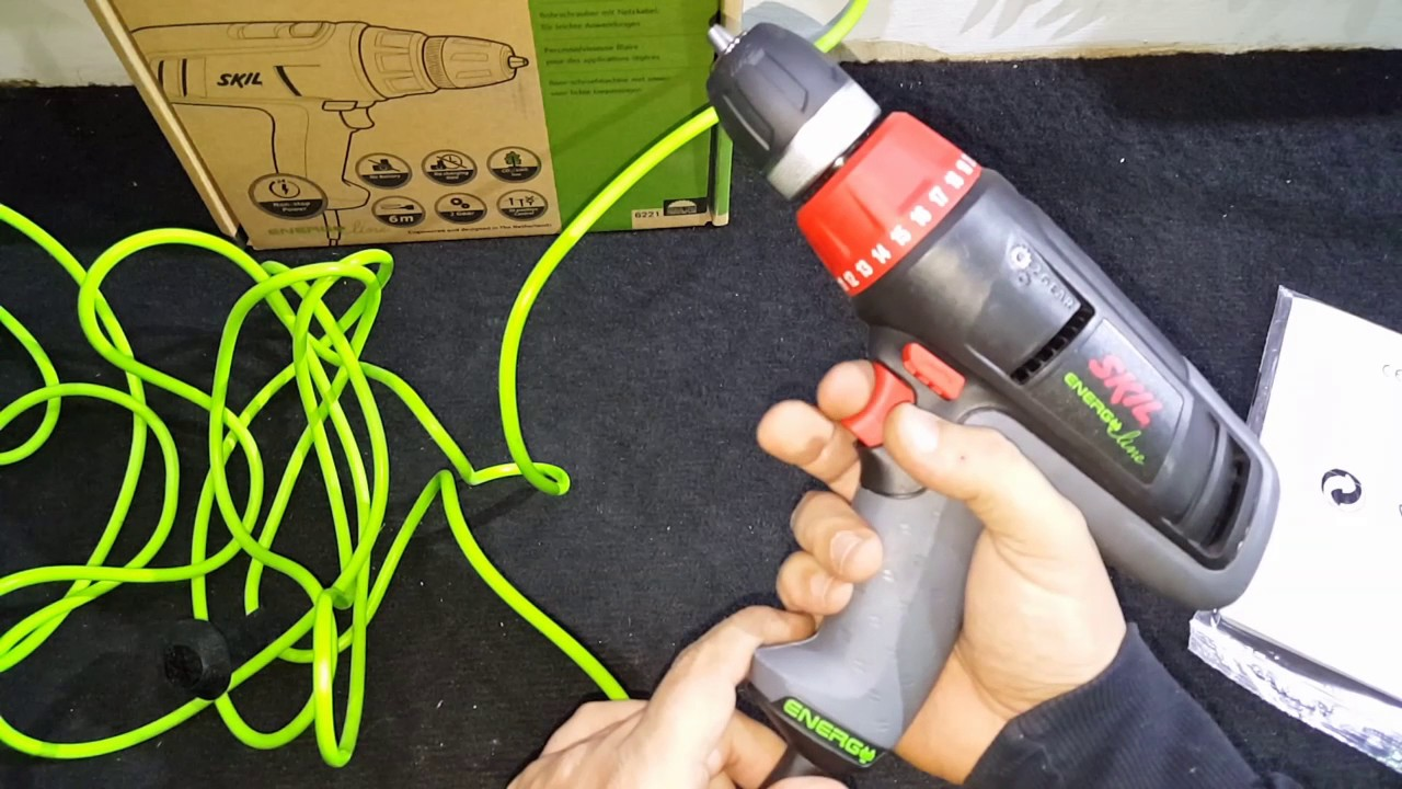 Bormaşină Skil 6221 AA (Energy Line) UnBoxing - YouTube