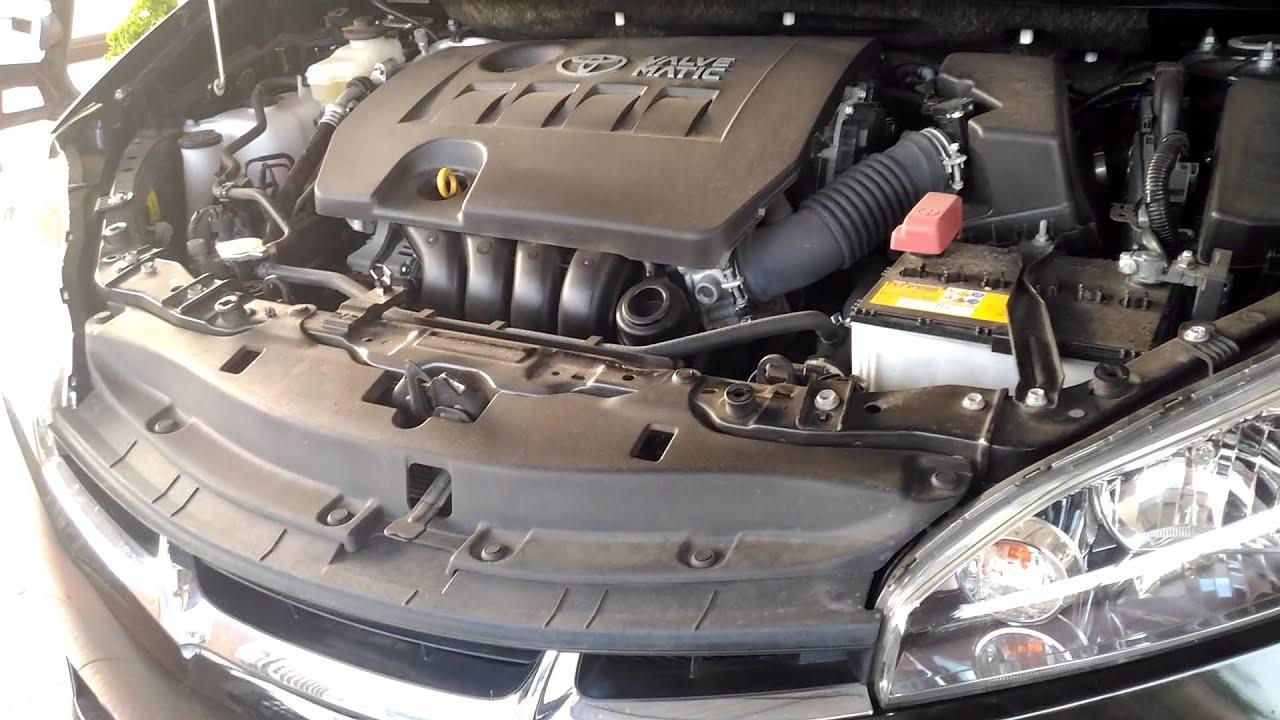 Engine Bay Toyota Wish Zge20