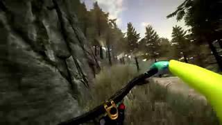 Неадекватный обзор MTB Downhill Simulator