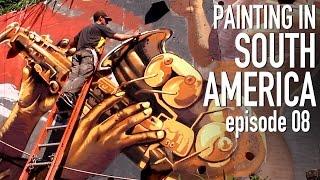 Biggest Favela, Biggest Mural!!  - STREET ART SOUTH AMERICA 08