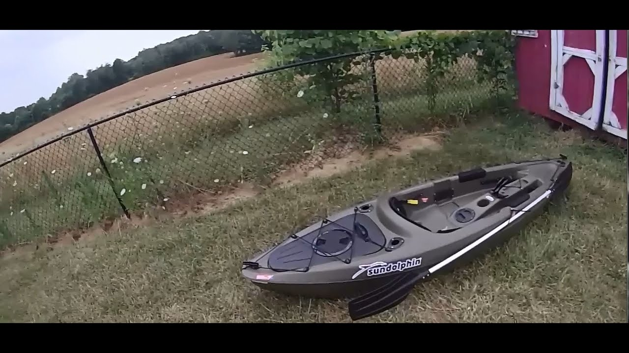 Walmart Kayak Review / Sun Dolphin Journey 10' SS