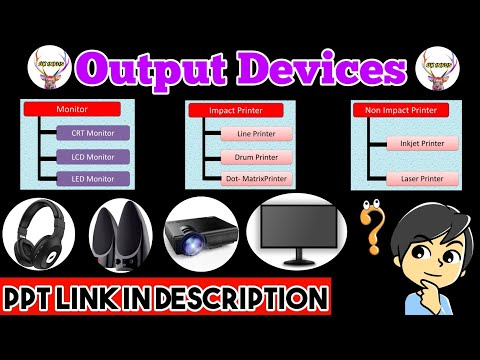 Output Devices Of Computer | Types Of Monitor & Printers | BY UK Infos