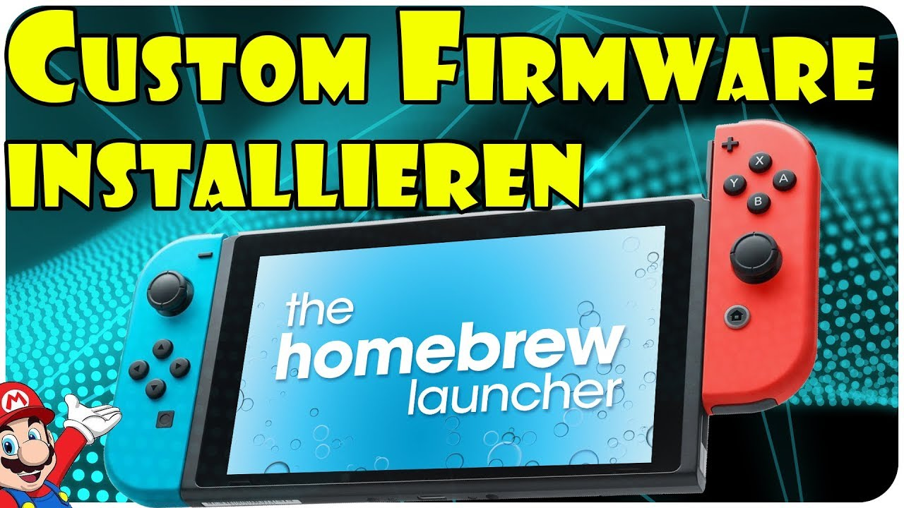 [NINTENDO SWITCH] Custom Firmware installieren - YouTube