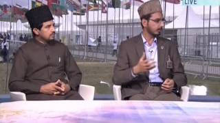 Talk with Missionaries from Japan and New Zealand at Jalsa Salana UK 2014