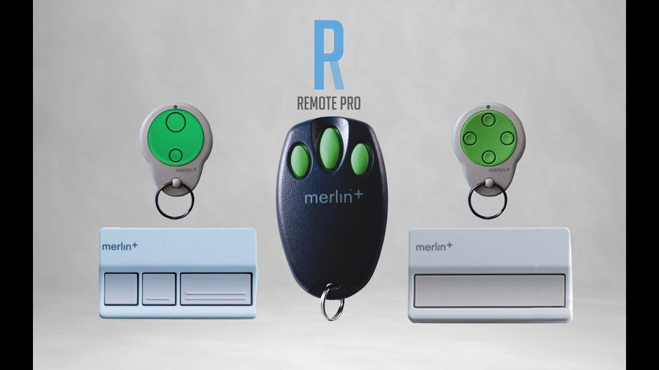 Merlin+ MR600A Garage Remote C945 Programming/Coding