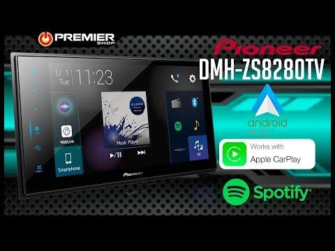 Central Multimídia Pioneer DMH-ZS8280TV - Com Android Auto E Apple Carplay - [ Premier Shop ]