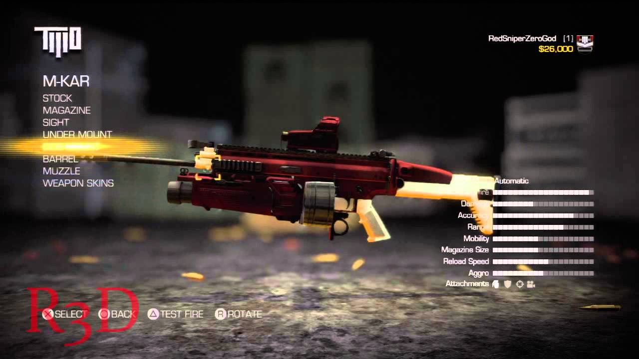 army of two the devils cartel weapons