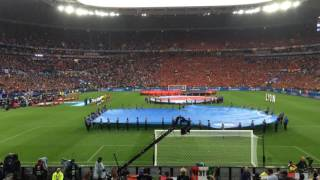 italian national anthem at italy belgium game