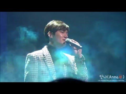 [LeeMinHo, 직캠] 이민호 160116 1st Talk Concert_아픈사랑