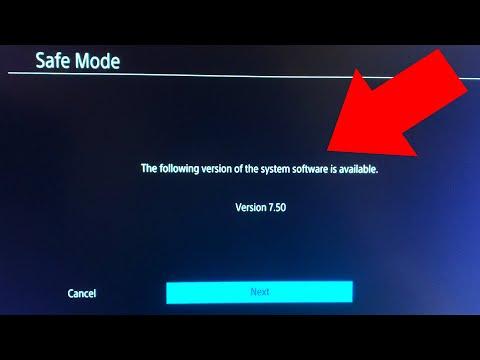 PS4 7.50 Update Not Working FIX