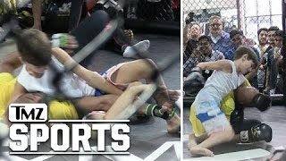 Anderson Silva -- This 10-Year-Old Can Fight!!!