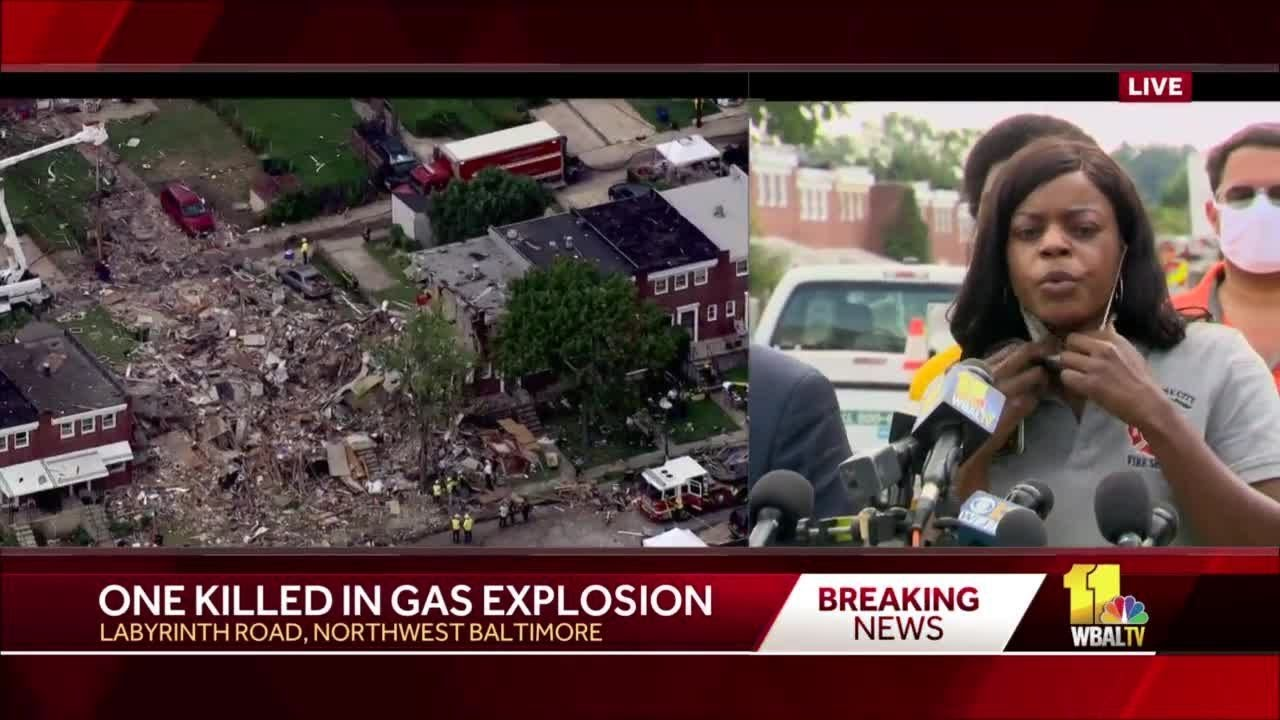 Baltimore explosion: 1 dead and 6 hospitalized after homes explode ...