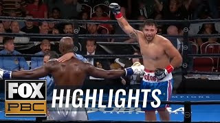 Watch underdog Rodney Hernandez TKO heavy favorite Onoriode Ehwarieme | HIGHLIGHTS | PBC ON FOX
