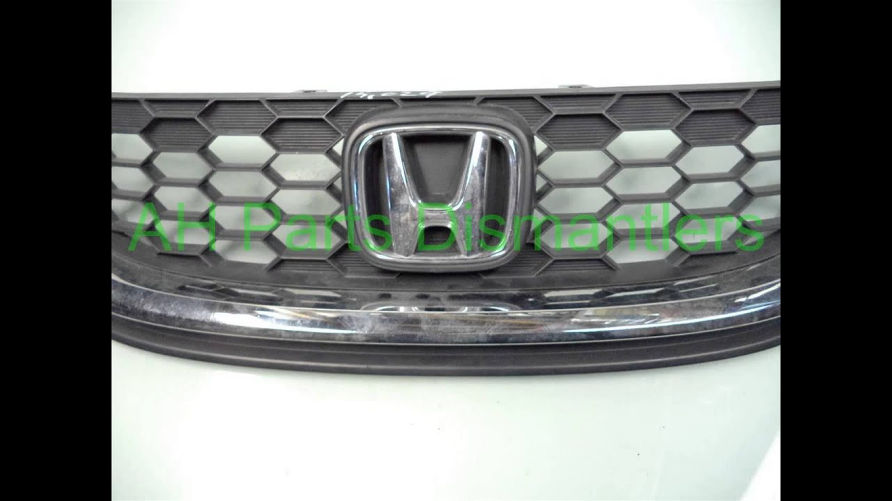 2013 Honda CIVIC GRILLE small scratches BROKE TABS - ahparts com Used  Honda, Acura, Lexus & T    OEM