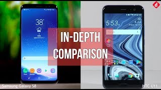 HTC U11 Vs Samsung Galaxy S8 | Digit.in