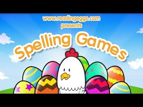 Spelling Games for iPad – Reading Eggs