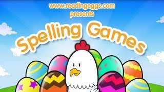 Spelling Games Apps by Reading Eggs