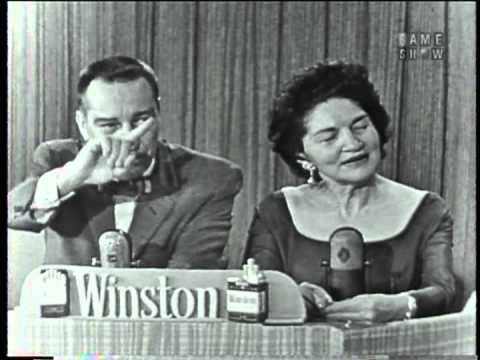 "Talented relatives of celebrities appear on ""I've Got a Secret"" (February 26, 1958)"