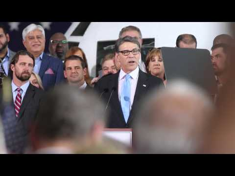 Rick Perry announces candidacy for 2016 Republican presidential nomination