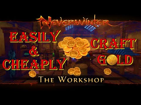 How to Easily & Cheaply Craft Gold – Neverwinter Mod 18
