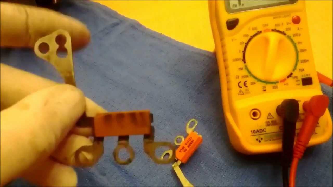 alternator diode trio replacement [ 1280 x 720 Pixel ]