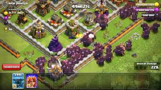 x500 max SUPER PEKKA attack | clash of clans private | clash of clans hack | coc