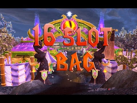 World of Warcraft: 16 Slot bag easy! And cheap!
