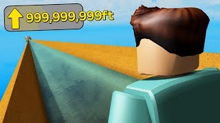 I slid down the TALLEST WATER SLIDE in Roblox (emotional)