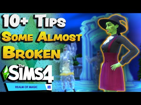 10 Tips to Get Started in The Sims 4 Realm of Magic