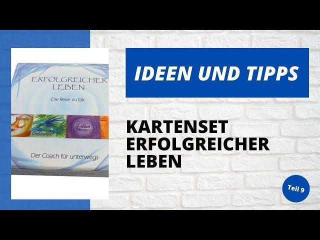 Ideen und Tipps - Kartenset Erfolgreicher leben - Teil 9