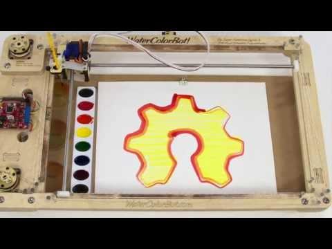 The WaterColorBot -- Kickstarter Launch Video