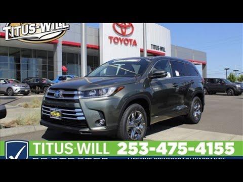 2019 Toyota Highlander Tacoma, WA #T91056