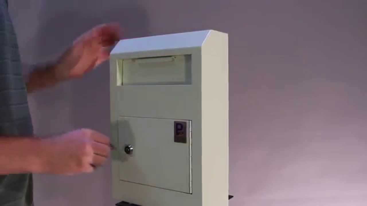 Wall Mounted Locking Drop Box Demo Review Wds 150 Youtube